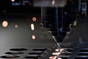 taglio laser in azione