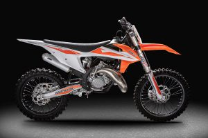 Fotografo motociclette KTM MX125