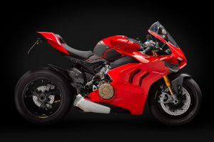 Fotografia motocicletta Ducati Panigale